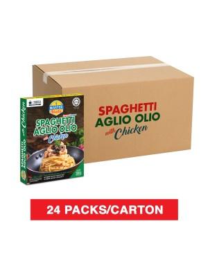 (1 Carton) 3-Minute Spaghetti Aglio Olio With Chicken (280g x 24)