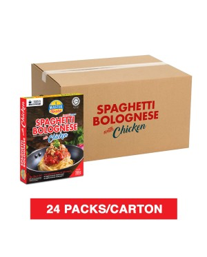 (1 Carton) 3-Minute Spaghetti Bolognese With Chicken Economy Pack (280g x 24)