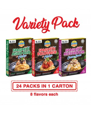 Variety Pack (24 Packs with assorted flavour) Economy Pack