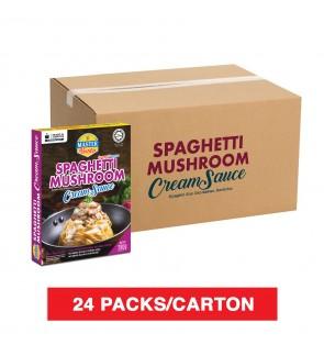 (1 Carton) 3 Minutes Spaghetti Mushroom Cream Sauce (280g x 24)