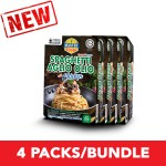 (4-Pack Bundle) 3-Minute Spaghetti Aglio Olio with Chicken Convenience Pack (290g x 4)
