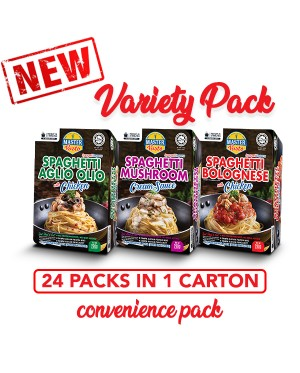 Variety Pack (24 Packs with assorted flavour) Convenience Pack