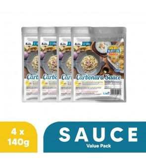 Carbonara Sauce Value Pack (140g x 4)