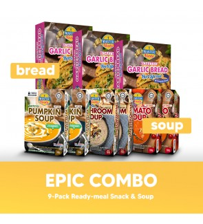 Epic Combo (9-Pack Snack& Soup)