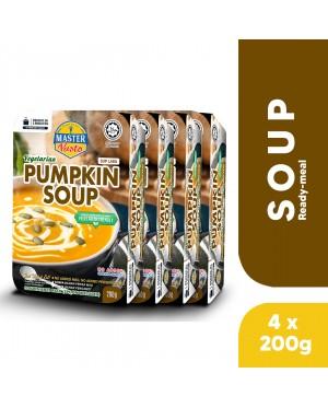 (4-Pack Bundle) 3-Minute Vegetarian Pumpkin Soup (200g X 4)